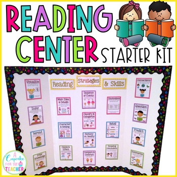 Reading Center Starter Kit! {Posters & Graphic Organizers}