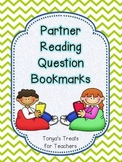 reading partner question bookmarks
