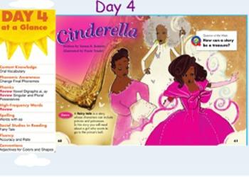 reading street cinderella day 1-4