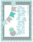 #readingstrategies (teal and gray)