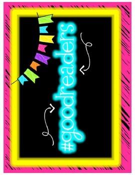 #readingstrategies (neon)