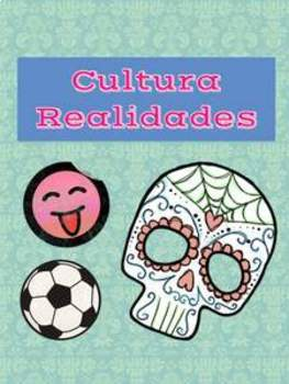 realidades 1 4A Culture pages 192-193 worksheet