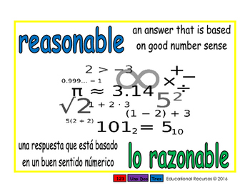 reasonable/lo razonable prim 1-way blue/verde