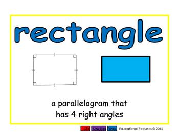 rectangle/rectangulo geom 2-way blue/verde