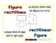 rectilinear figure/figura rectilinea geom 1-way blue/rojo