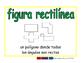 rectilinear figure/figura rectilinea geom 2-way blue/verde
