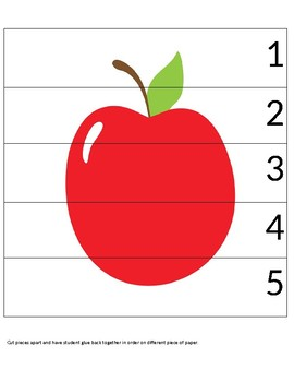red apple puzzle