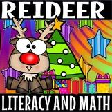 reindeer fun literacy and math