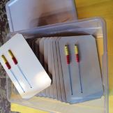 rekenreks- CLASS SET of 25 (Dry Erase)