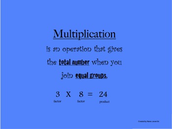 repeated addition as multiplication