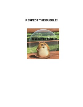 respect the bubble