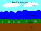 review - rocks, soils, water