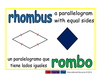 rhombus/rombo geom 1-way blue/verde