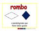 rhombus/rombo geom 2-way blue/rojo