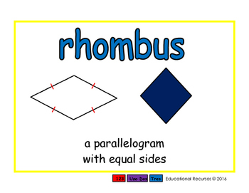 rhombus/rombo geom 2-way blue/rojo