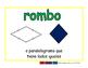 rhombus/rombo geom 2-way blue/verde