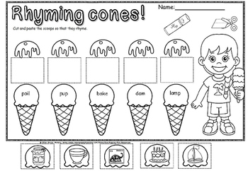 rhyme cones(FREE- FEEDBACK CHALLENGE)