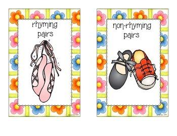 rhyme sort_nursery rhyme theme