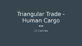 Triangular Trade: Human Cargo