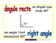 right angle/angulo recto geom 1-way blue/rojo