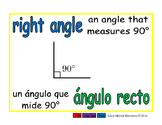 right angle/angulo recto geom 1-way blue/verde