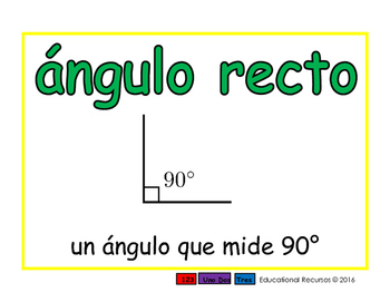 right angle/angulo recto geom 2-way blue/verde