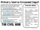 Primary Source Document Depot: The Civil War