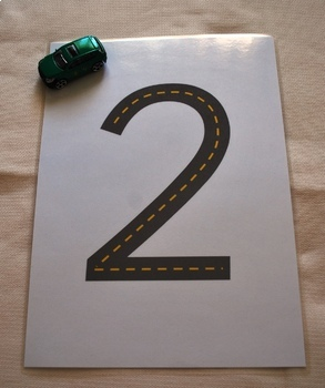 The road numbers