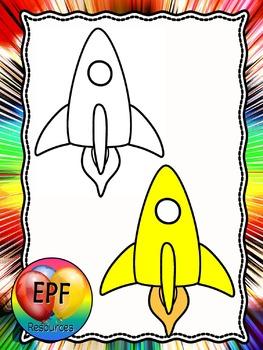 rocket clip art(free)