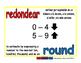 round/redondear prim 1-way blue/rojo
