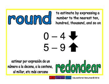 round/redondear prim 1-way blue/verde