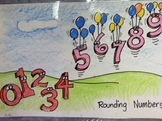 rounding number poster