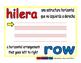row/hilera prim 1-way blue/rojo