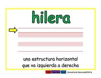 row/hilera prim 2-way blue/verde
