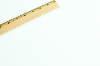 Stock Photo Styled Image: Ruler -Personal & Commercial Use