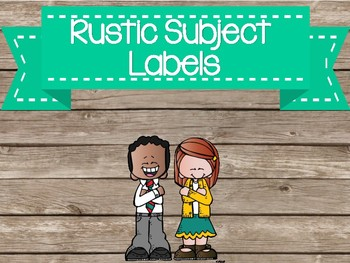 rustic subject labels