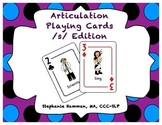 S Articulation Playing Cards