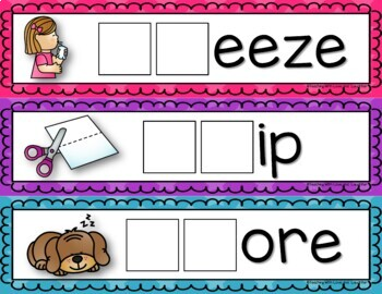 s-Blends Activity Cards