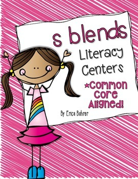 s Blends Literacy Centers
