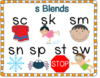 s Blends Printables