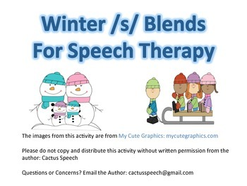 /s/ Blends- Winter Theme