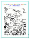 Articulation - SH challenge - Coloring Sheet - Phonology