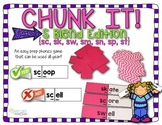 S-blend Chunk It phonics game