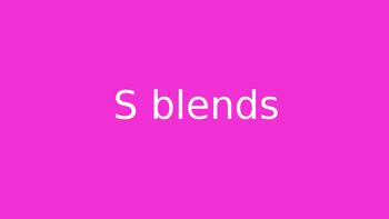 s blends