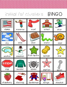 s clusters BINGO (initial position only)