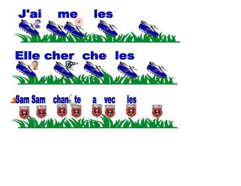 /s/ & /sh/ Initial sound Soccer activity in French and English
