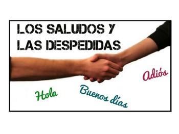 saludos /formula de cortesia /DESPEDIDAS