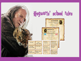 Back to school : Hogwarts' school rules