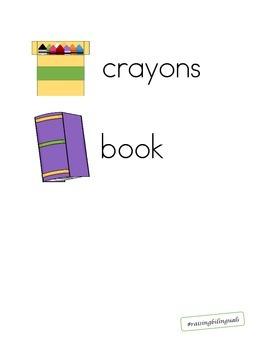 school supplies/ utiles escoloares