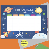 school timetable, space